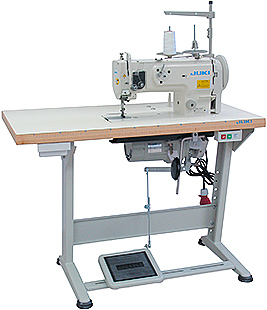Juki dnu1541 s walking foot machine complete with table for Machine a coudre yamata